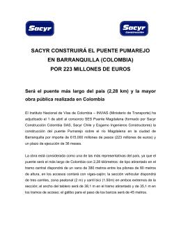 N.P_Adjudicación Puente Pumarejo en Colombia