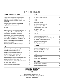 by the glass Spanish Flight