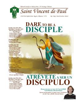 Nuestra Misión - St. Vincent de Paul
