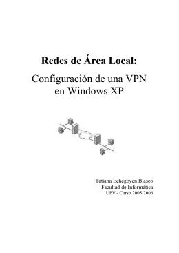 trabajo RAL - Redes de Computadores