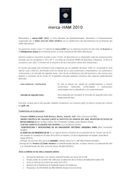 Actes MH`2010 - Ajuntament de Cerdanyola del Vallès