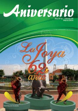 62° Aniversario de La Joya