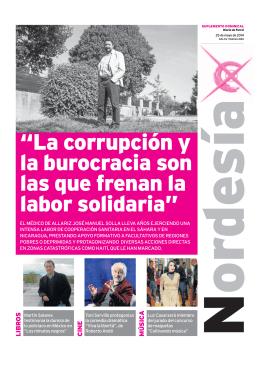 """""""La corrupción y la burocracia son las que frenan"""