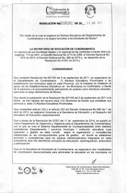 CundiNet - Gobernación de Cundinamarca