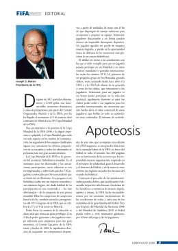 apoteosis - FIFA.com