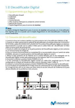 1. El Decodificador Digital