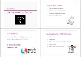 """Unidad 3 - CFGS Dietética IES """"El Getares"""""""