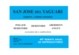 SAN JOSE DEL YAGUARI - San José del Yaguarí