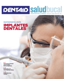 implantes dentales - DENTAID Salud Bucal