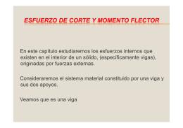 ESFUERZO DE CORTE Y MOMENTO FLEXOR [Modo de
