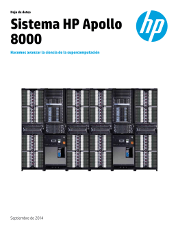 Sistema HP Apollo 8000