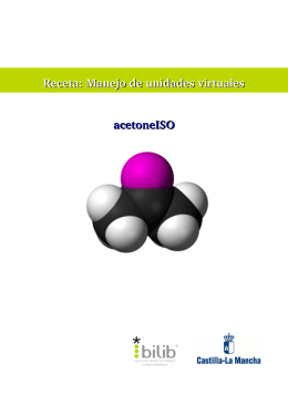 Receta: Manejo de unidades virtuales acetoneISO