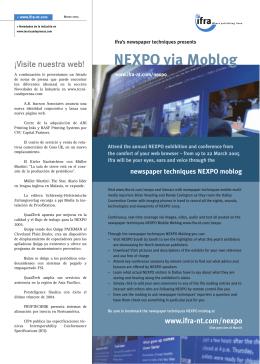 NEXPO via Moblog - WAN-IFRA