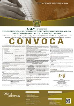 CONVOCATORIA DE INGRESO EP 2015 (2a)