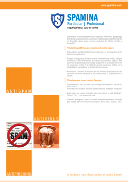 ANTIVIRUS ANTISPAM ANTIPHISHING