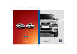 Manual Ford Ranger
