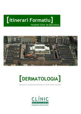 Dermatología - Hospital Clínic