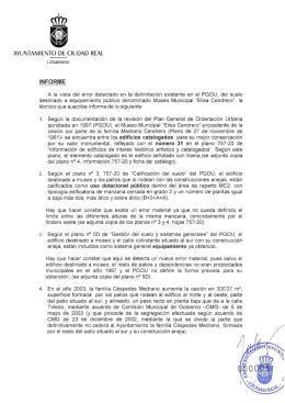 Modificación 5 - Ayuntamiento de Ciudad Real