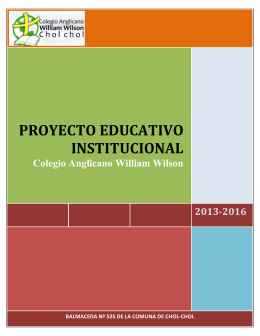 proyecto educativo institucional formativo e integrado