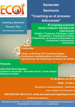 Seminario Santander Coaching en el proceso
