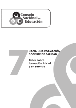 presentación - Consejo Nacional de Educación