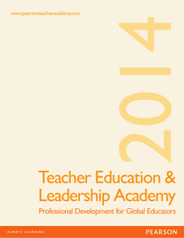 Teacher Education & Leadership Academy