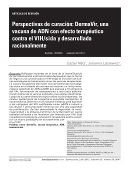 Perspectivas de curación: DermaVir, una vacuna de ADN con efecto
