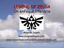 LEGEND OF ZELDA Un enfoque literario