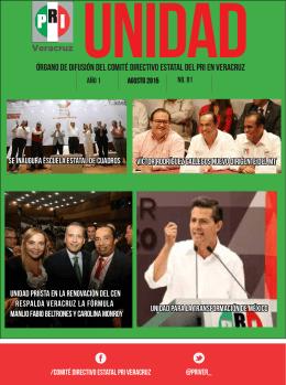 ÓRGANO DE DIFUSIÓN DEL COMITÉ DIRECTIVO ESTATAL DEL