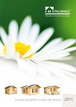 Casetas de jardín y casas de verano 2011