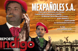 Mouriño Atanes presentó el pasa- porte