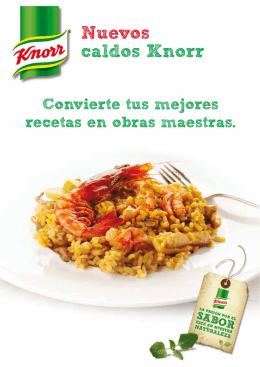 Nuevos caldos Knorr