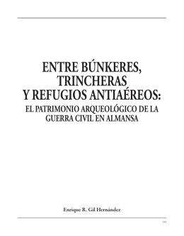 el patrimonio arqueológico de la Guerra Civil en Almansa