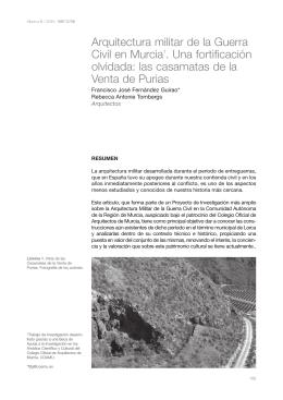 Arquitectura militar de la Guerra Civil en Murcia