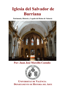 Iglesia del Salvador de Burriana - Mupart