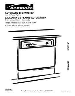 AUTOMATIC DISHWASHER LAVADORA DE PLATOS AUTOMATICA