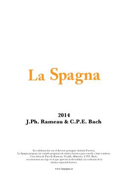 2014 J.Ph. Rameau & C.P.E. Bach