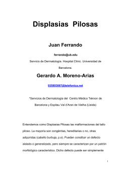 104 Displasias Pilosas