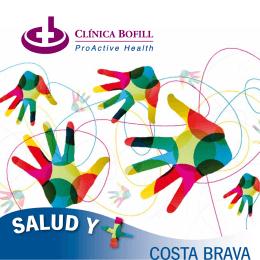 Catálogo de servicios generales en Clínica Bofill Costa Brava