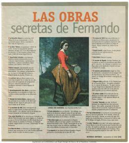 Las obras secretas de Fernando en El Espectador (Botero Entero
