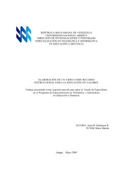 Texto - Universidad Nacional Abierta