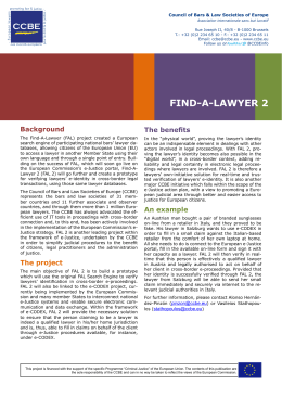 Find-A-Lawyer 2 Leaflet