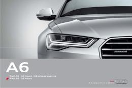 Audi A6   A6 Avant   A6 allroad quattro Audi S6   S6 Avant