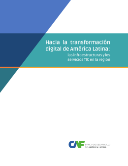 Hacia la transformación digital de América Latina: - Inicio