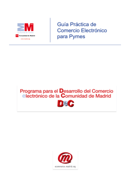 Guía Práctica de Comercio Electrónico para Pymes