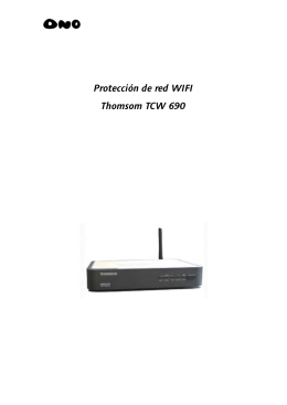Manual de ayuda para proteger tu red wifi