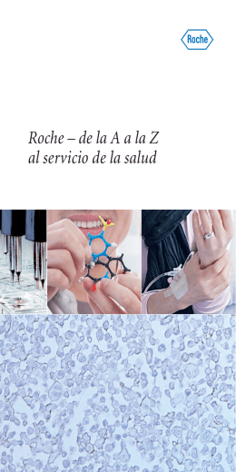 Roche – de la A a la Z al servicio de la salud