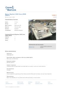 Barco: Bayliner 2355 Ciera URGE VENTA