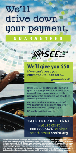 GUARANTEED We`ll drive down your payment.