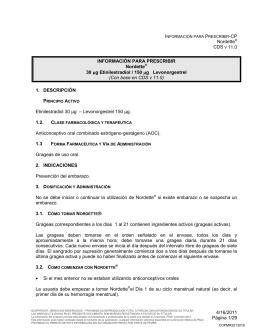 Nordette® CDS V 11.0 4/16/2011 Página 1/29